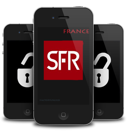 DEBLOCAGE IPHONE 4S SFR