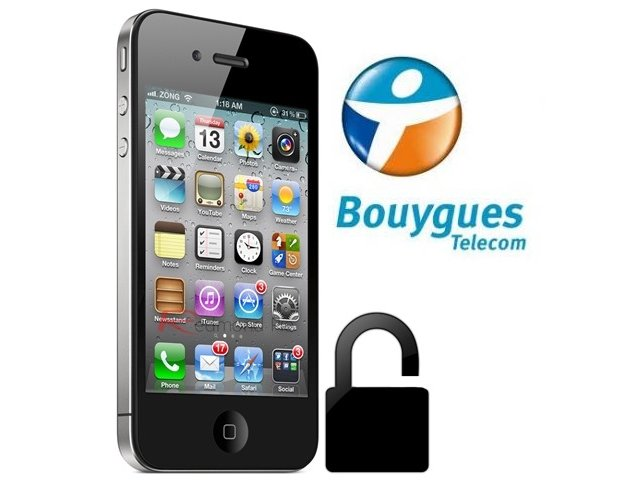 DEBLOCAGE IPHONE 4S BOUYGUES